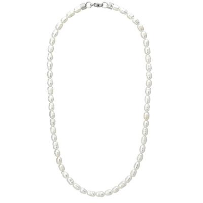 Pánský perlový náhrdelník Joel - sladkovodní perla