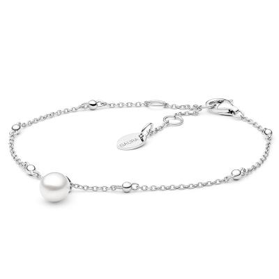 Stříbrný náramek s perlou Kirsty - stříbro 925/1000