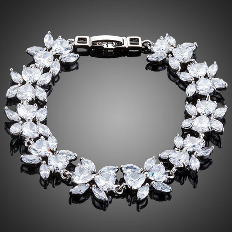 Náramek Swarovski Elements Savona - květina