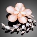 Brož Swarovski Elements Prairie en Fleurs - květina