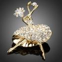 Brož Swarovski Elements Balerina - baletka