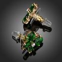Náušnice Swarovski Elements Brunella - motýlek