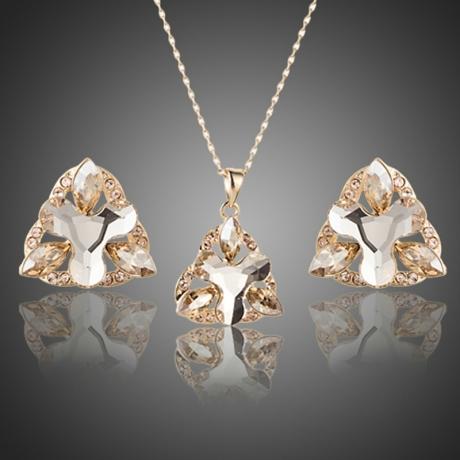 Souprava náhrdelníku a náušnic Swarovski Elements Lorianna