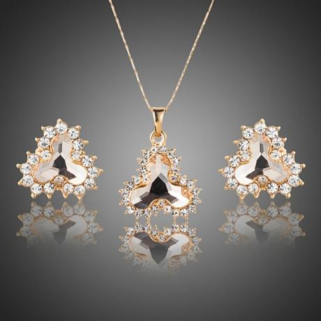 Souprava náhrdelníku a náušnic Swarovski Elements Gianina