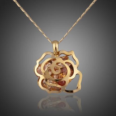 Náhrdelník Swarovski Elements Nunziatina - květina