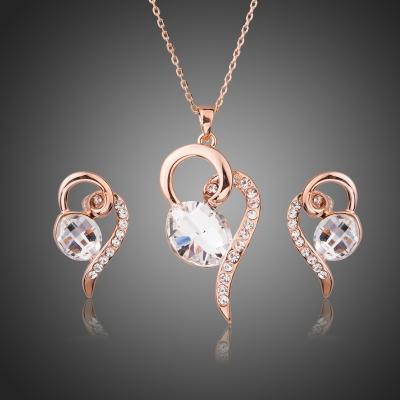 Souprava náhrdelníku a náušnic Swarovski Elements Lagorio