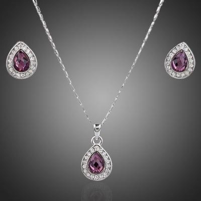 Souprava náhrdelníku a náušnic Swarovski Elements Adrianna