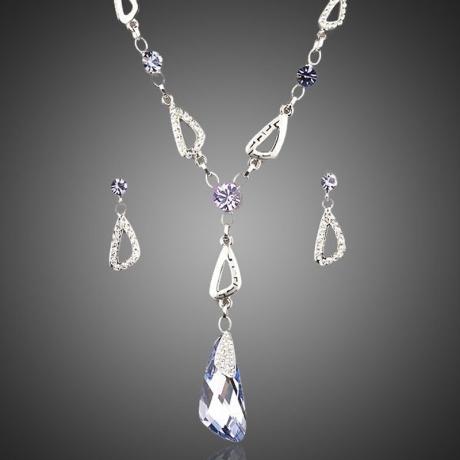 Souprava náhrdelníku a náušnic Swarovski Elements Clariss
