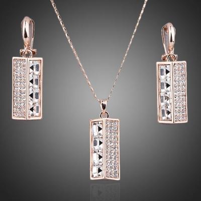 Souprava náhrdelníku a náušnic Swarovski Elements Simonette