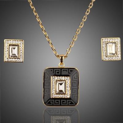 Souprava náhrdelníku a náušnic Swarovski Elements Katriane