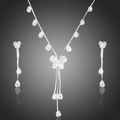 Souprava náhrdelníku a náušnic Swarovski Elements Roselin