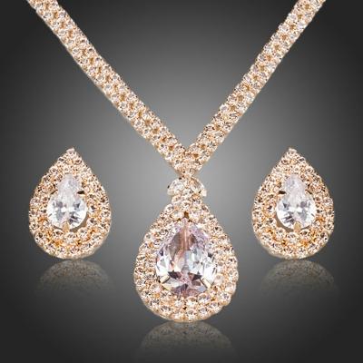 Dámská souprava náhrdelníku a náušnic Swarovski Elements Feliciana
