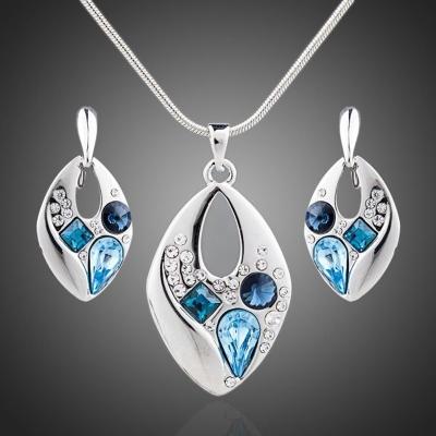 Souprava náhrdelníku a náušnic Swarovski Elements Ellise