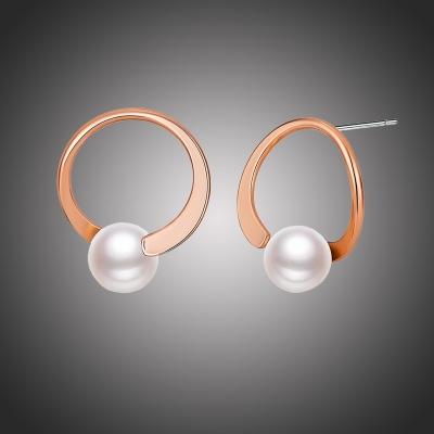 Náušnice s perlou Adolina