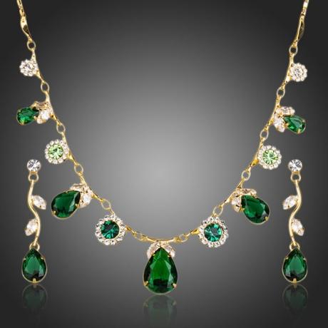 Souprava náhrdelníku a náušnic Swarovski Elements Diodore