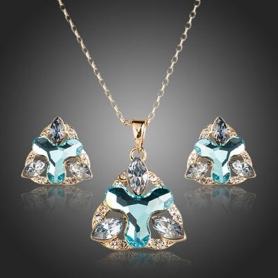 Souprava náhrdelníku a náušnic Swarovski Elements Ivonna