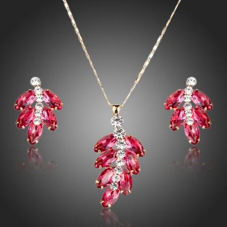 Souprava náhrdelníku a náušnic Swarovski Elements Kairi