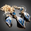 Souprava Swarovski Elements Feminine Beauty Royal Blue