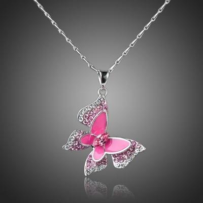 Náhrdelník Swarovski Elements Torquato - motýlek