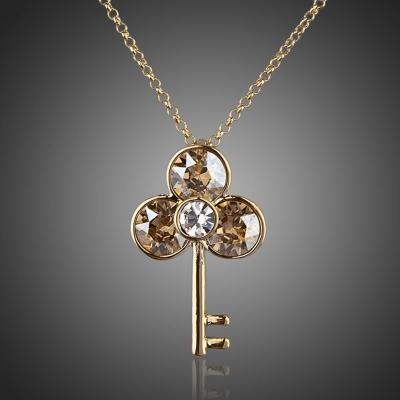 Náhrdelník Swarovski Elements  Tasto  Cuore - klíč