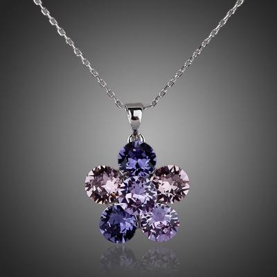 Náhrdelník Swarovski Elements Morena - květina
