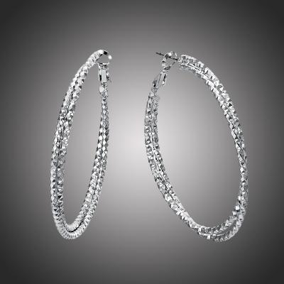 Náušnice Bagni Silver - kruhy