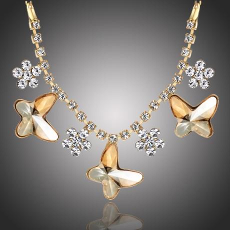 Náhrdelník Swarovski Elements Montanari - motýlek