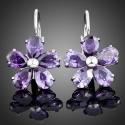 Náušnice Swarovski Elements Therese - květina