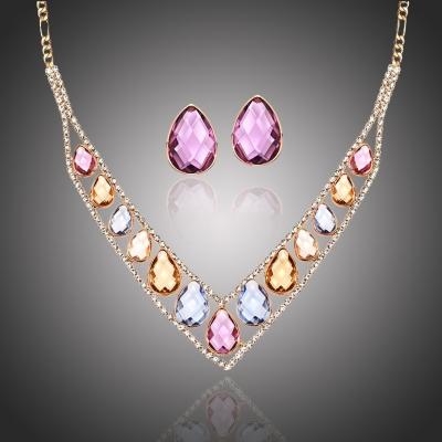 Souprava náhrdelníku a náušnic Swarovski Elements Sciacchitano