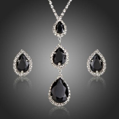 Souprava náhrdelníku a náušnic Swarovski Elements Beau