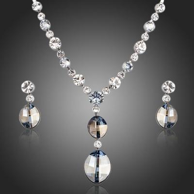 Souprava náhrdelníku a náušnic Swarovski Elements Santisi