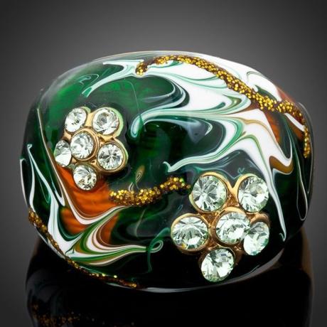 Prsten Swarovski Elements Feminine Beauty