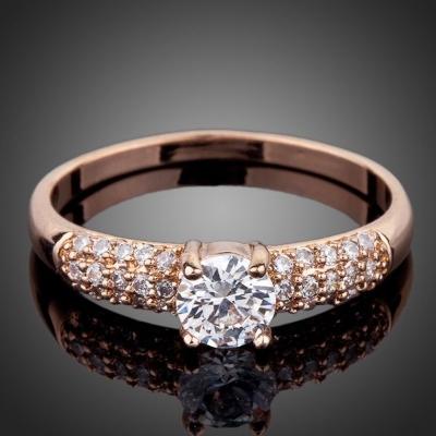 Prsten se zirkony Vescovi