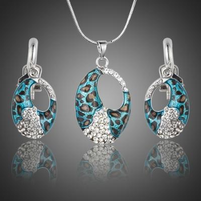 Souprava náhrdelníku a náušnic Swarovski Elements Anastasia