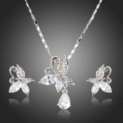 Souprava náhrdelníku a náušnic Swarovski Elements Pietra