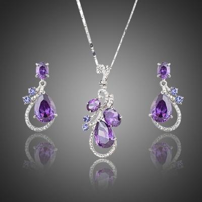 Souprava náhrdelníku a náušnic Swarovski Elements Sisoul
