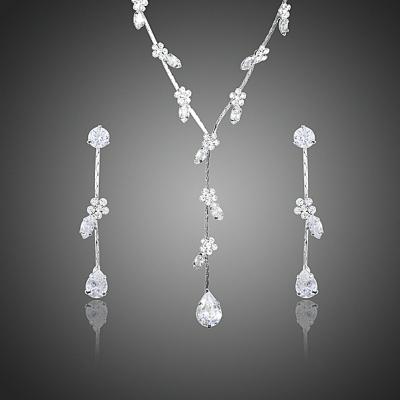 Souprava náhrdelníku a náušnic se zirkony Giuseppina