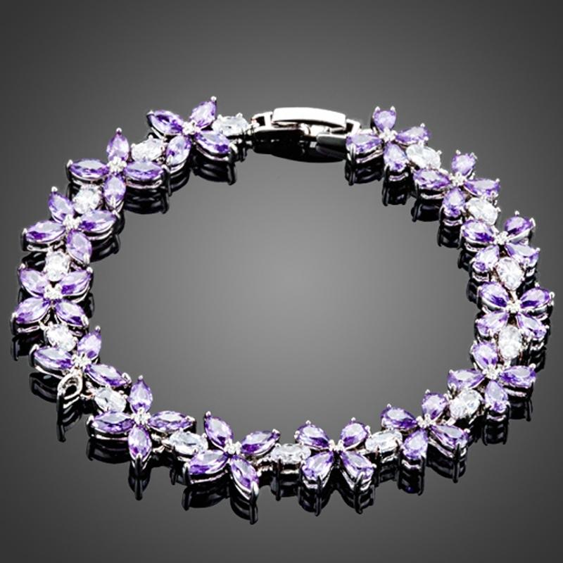 Náramek Swarovski Elements Ambrosi - květina