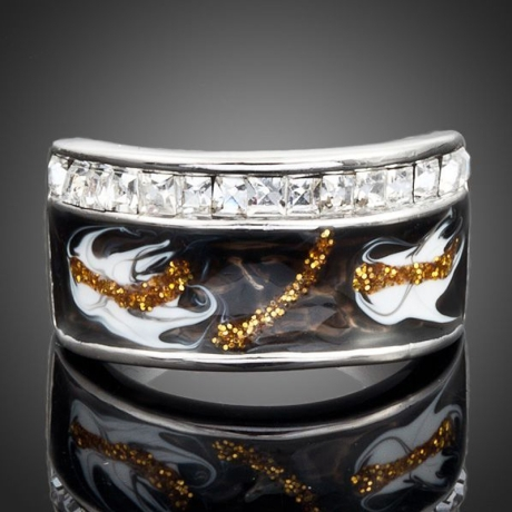 Prsten Swarovski Elements Edmondo