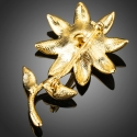 Brož Swarovski Elements Pecora - květina