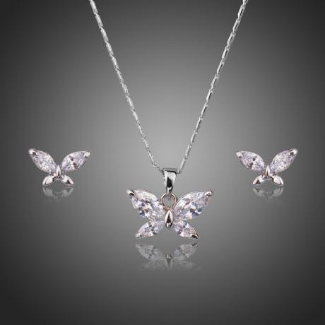 Souprava Swarovski Elements Maria - motýlek