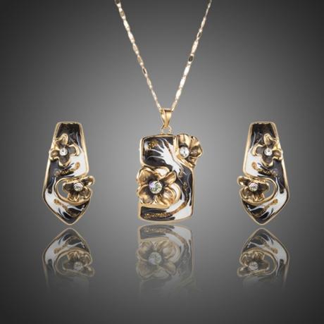 Souprava náhrdelníku a náušnic Swarovski Elements Joella