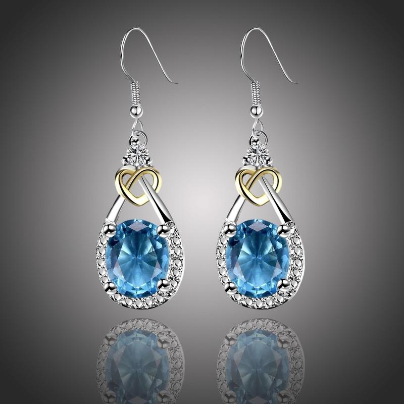 Náušnice Swarovski Elements Santini - Luxus a Elegance