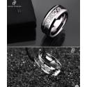 Pánský prsten z chirurgické oceli Dragonis